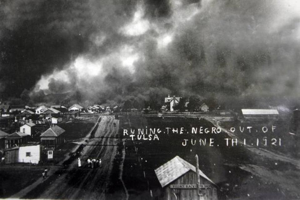 Greenwood District, Tulsa, Oklahoma - The Black Wall Street Massacre