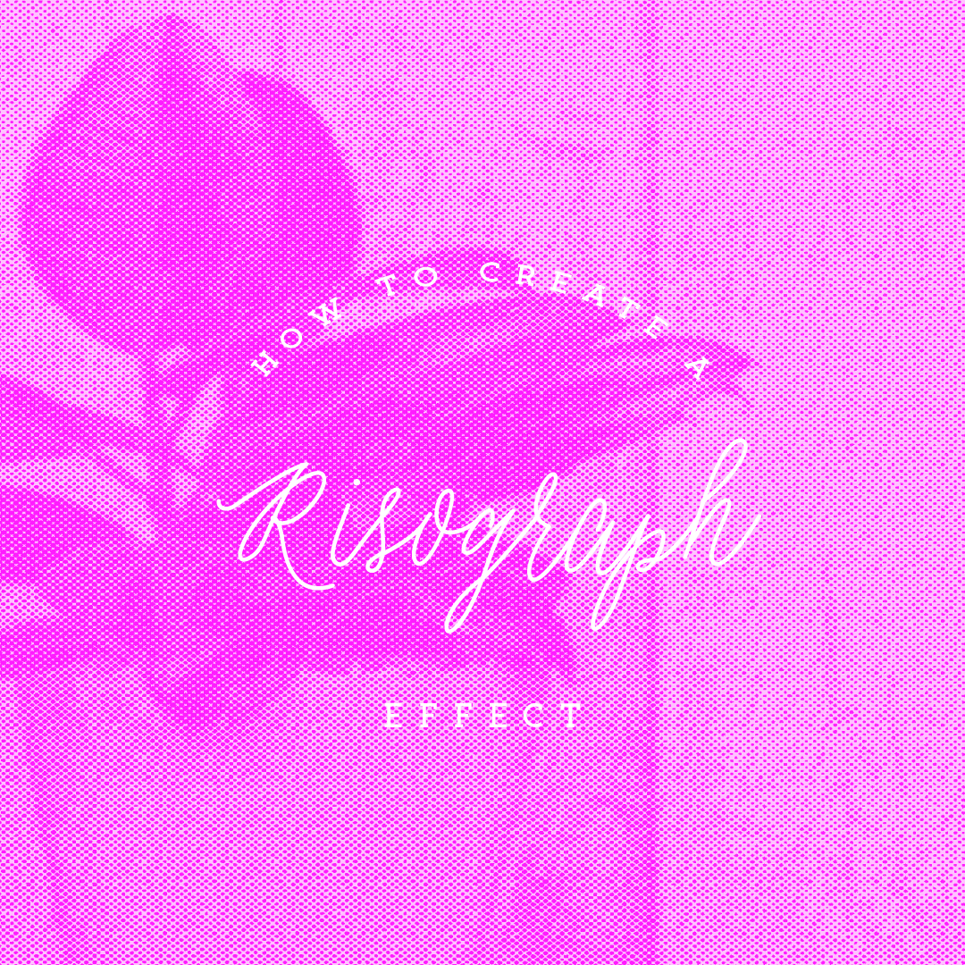 The Alchemy of Design Blog How to Create a Risograph Effect in Photoshop