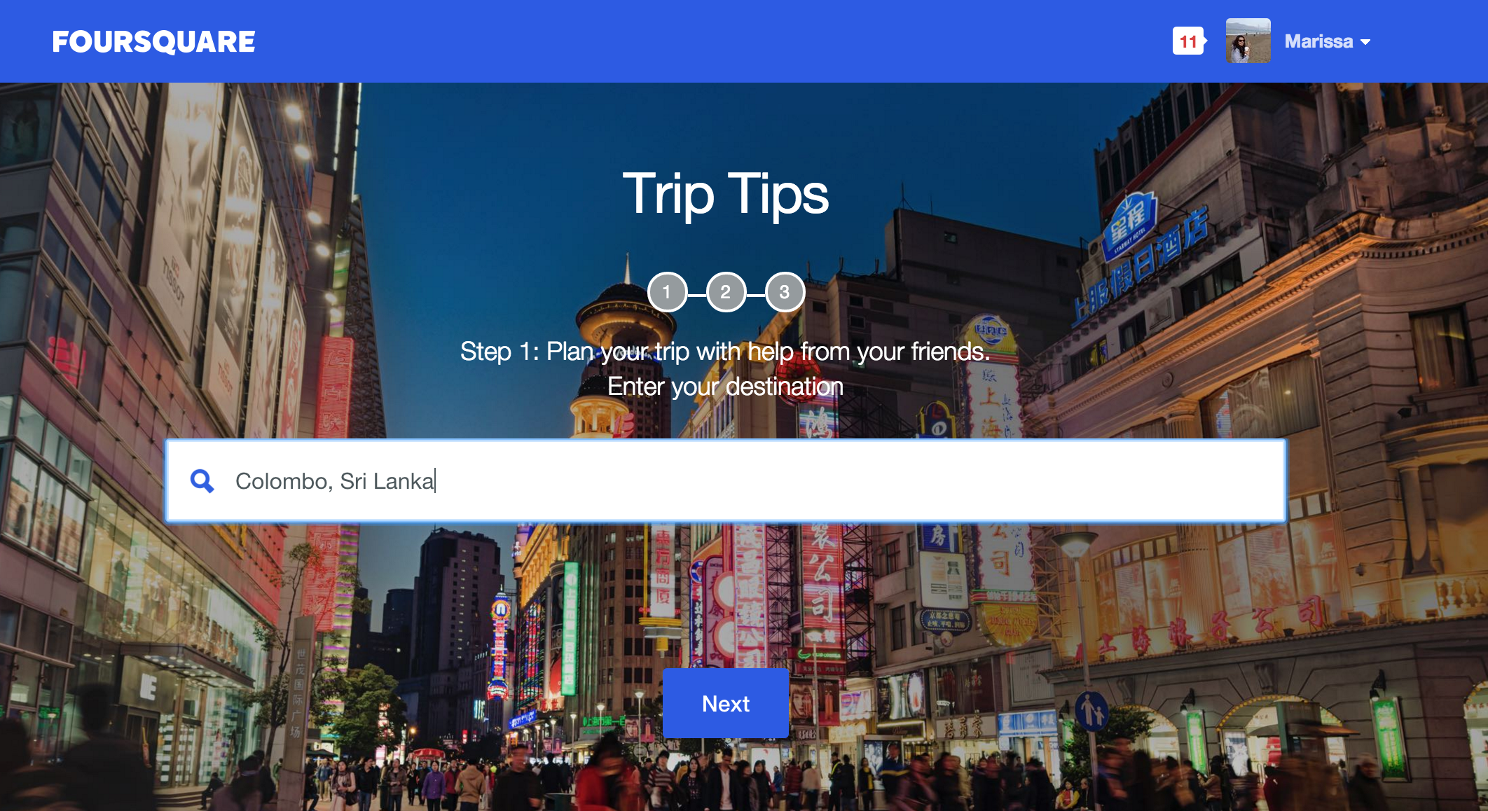 Trip Tips home page