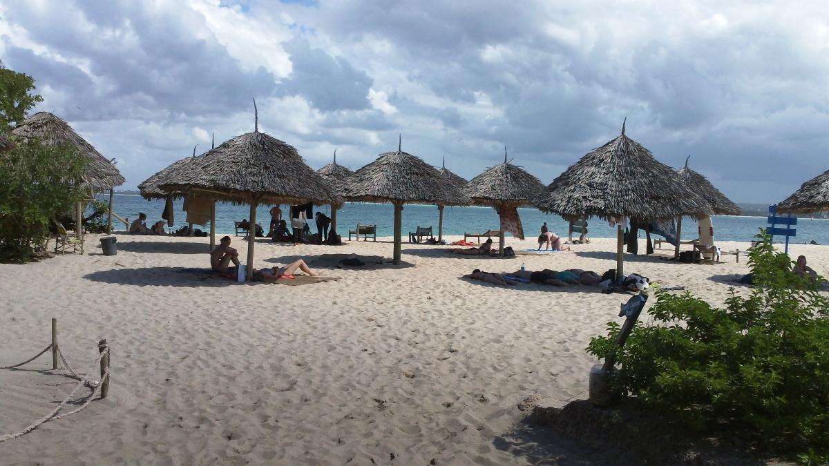 Bongoyo Island off coast of Dar es Salaam