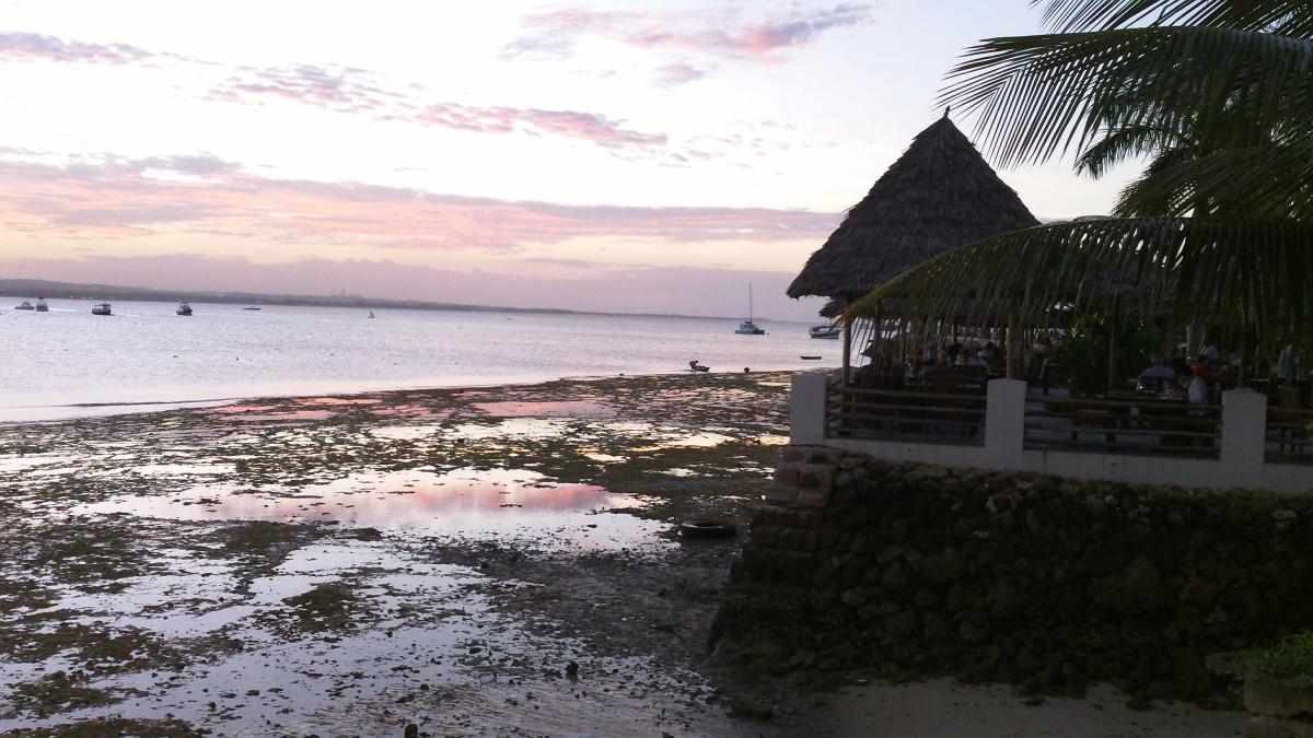 Sunset at Slipway in Dar es Salaam