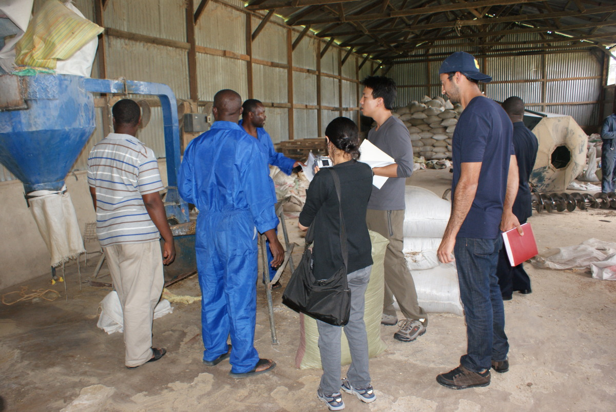 Meeting with Chanika Poultry Farm outside Dar es Salaam