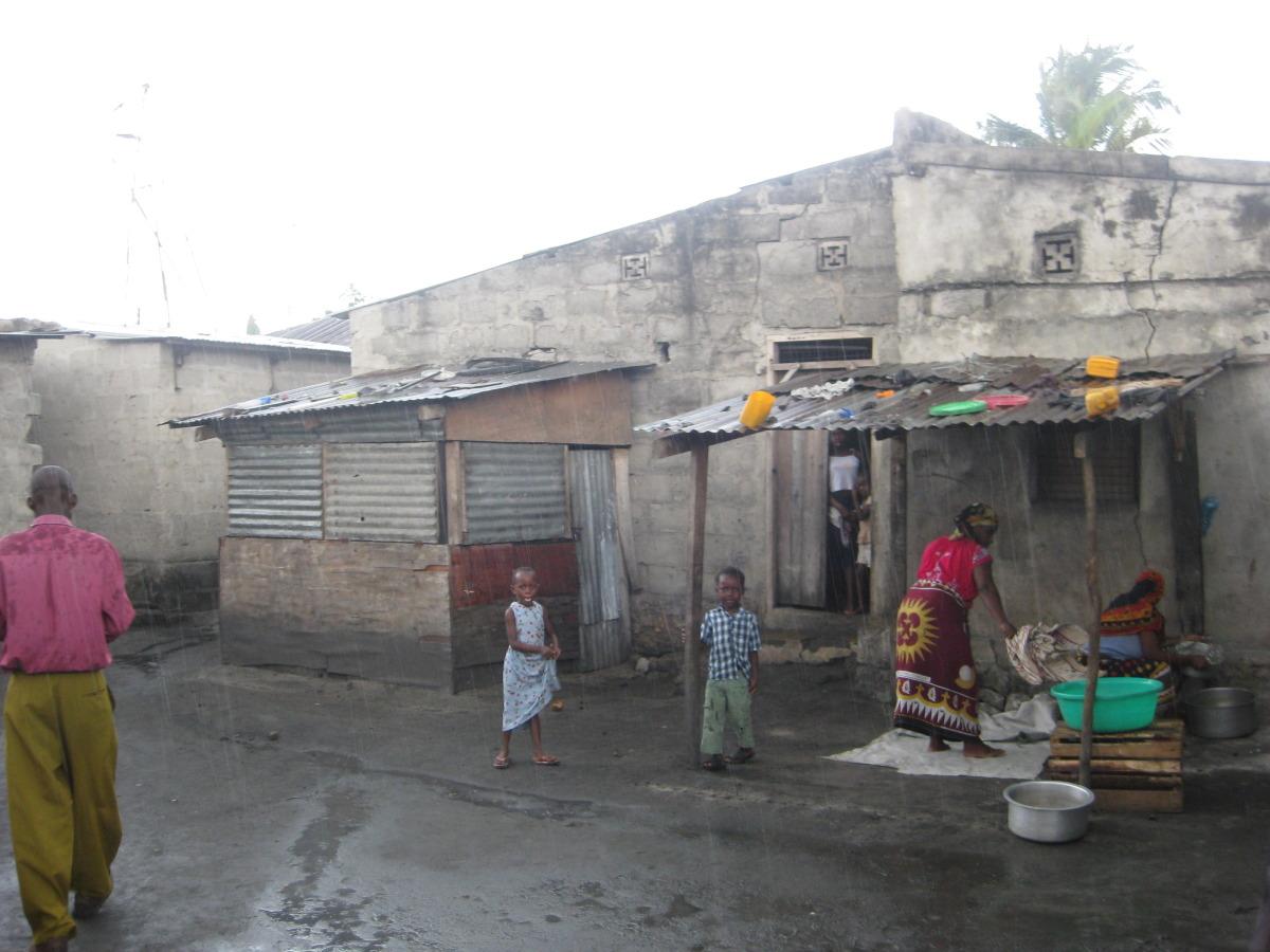 Urban Slum in Temeke District of Dar es Salaam, Tanzania