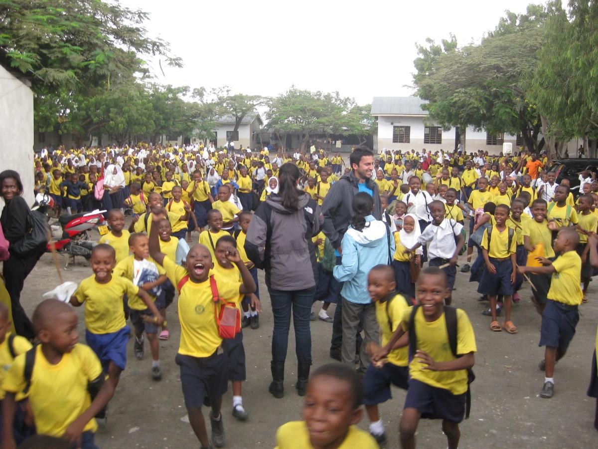 School in Temeke District in Dar es Salaam, Tanzania