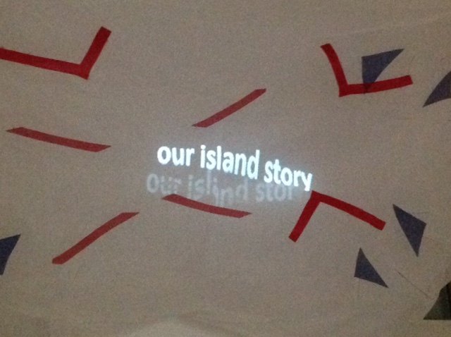 'we're all strangers now' - 'our island story'