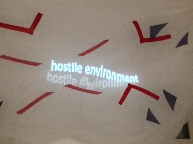'we're all strangers now' - 'hostile environment'