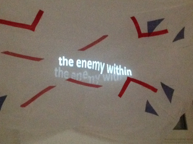 'we're all strangers now' - 'the enemy within'