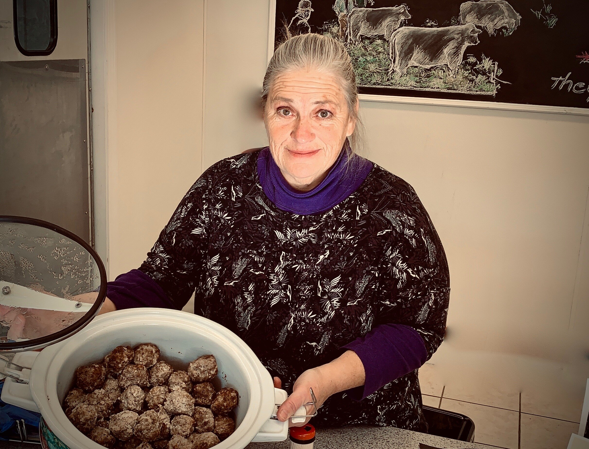 Our neighbor Robin Corey makes the best meatballs - with Heartstone Farm ground beef - and she's sharing her recipe.