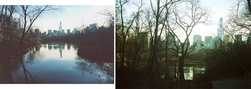 Shot on iPhone 5s, versus shot on analogue