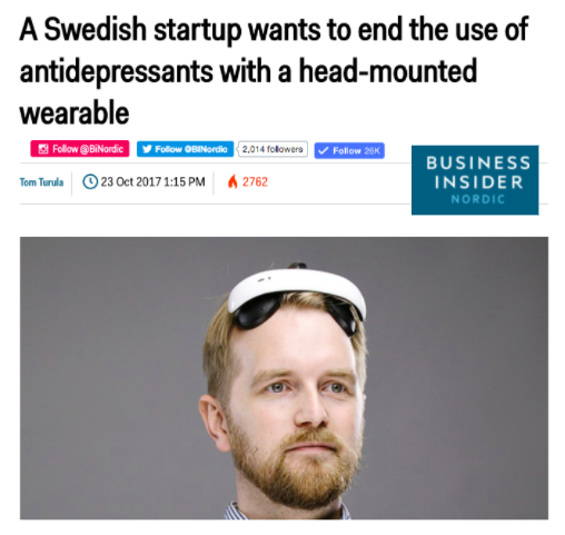 Flow Neuroscience in Business Insider Nordic