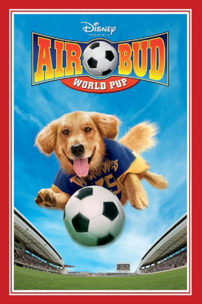 AIR BUD: WORLD PUP is loaded with laughs and cool soccer action as Buddy teams up alongside women's soccer greats Brandi Chastain, Briana Scurry, and Tisha Venturini, meanwhile keeping a protective eye over his adorable new family of soccer-playing puppies!