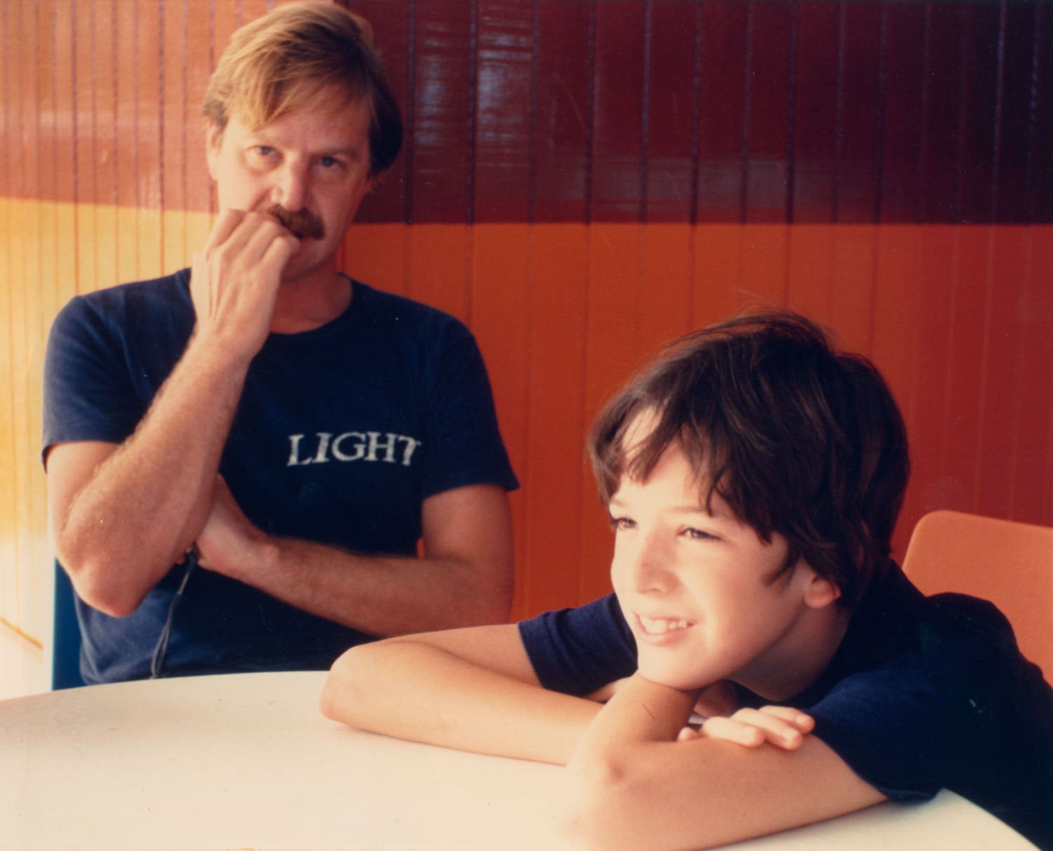 Charles and Aaron, Light at the Beach, 1979