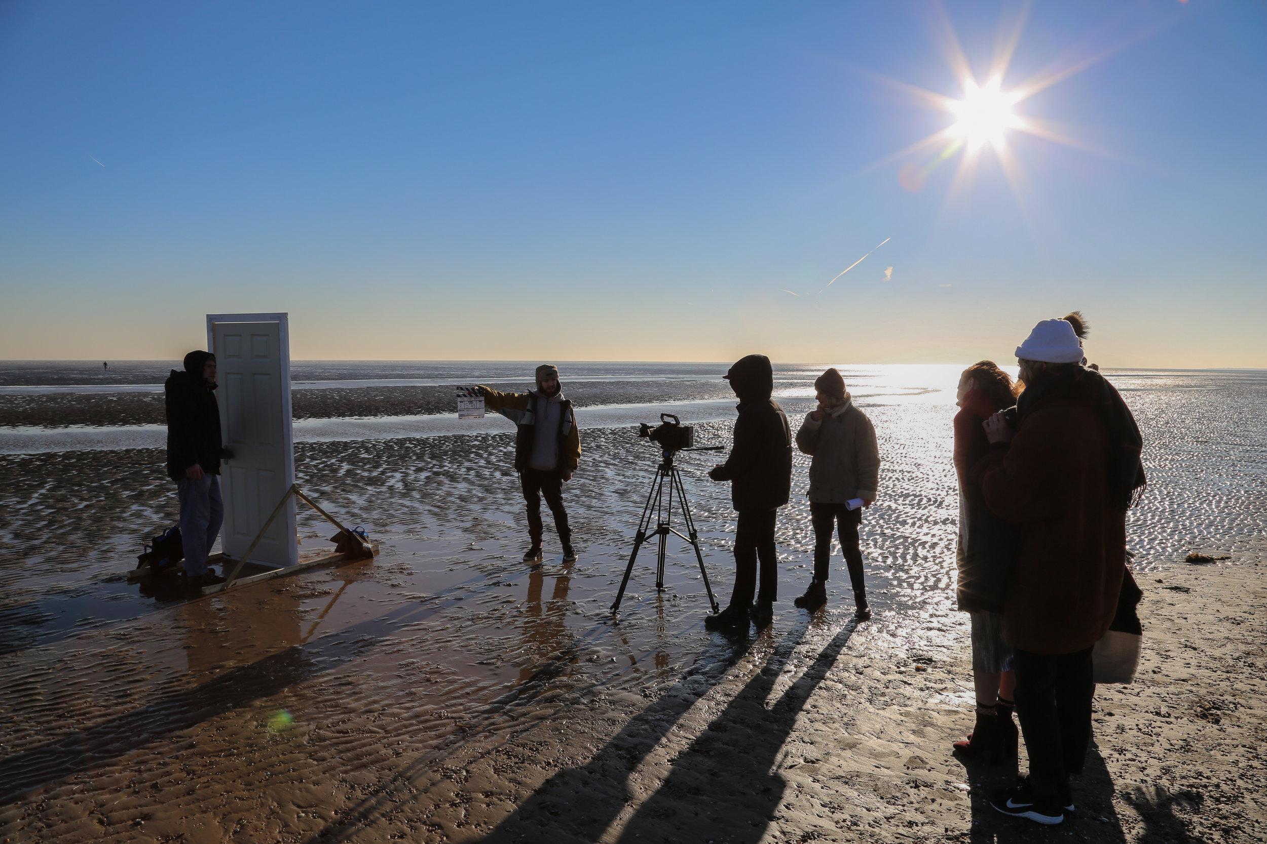Scene 5, Romney Sands, Jess, Eliott, Harlie, Florence, Tilly, Louis, Prop Door. Photographer: jessisteadman@gmail.com-6.jpg