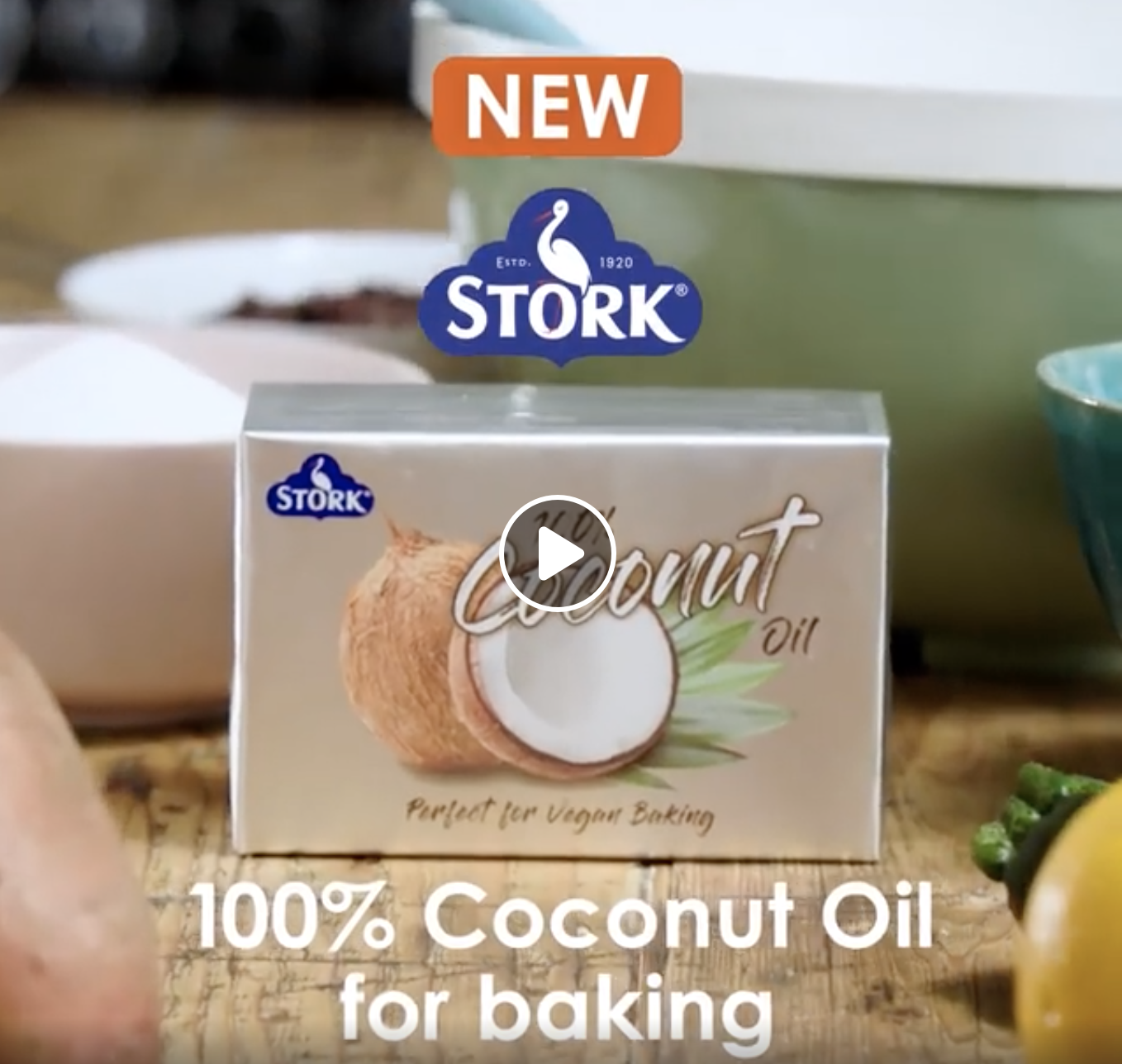 STORK COCONUT OIL - Video Editor and colourist for Stork's launch of their new coconut oil product.