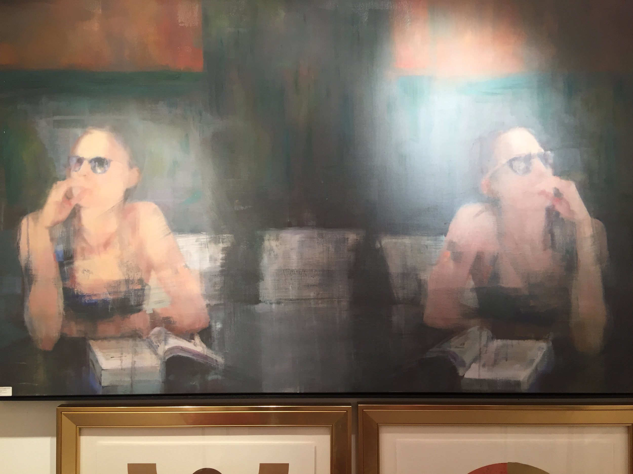 Love this piece from Wendover Art Group. It is so intriguing!