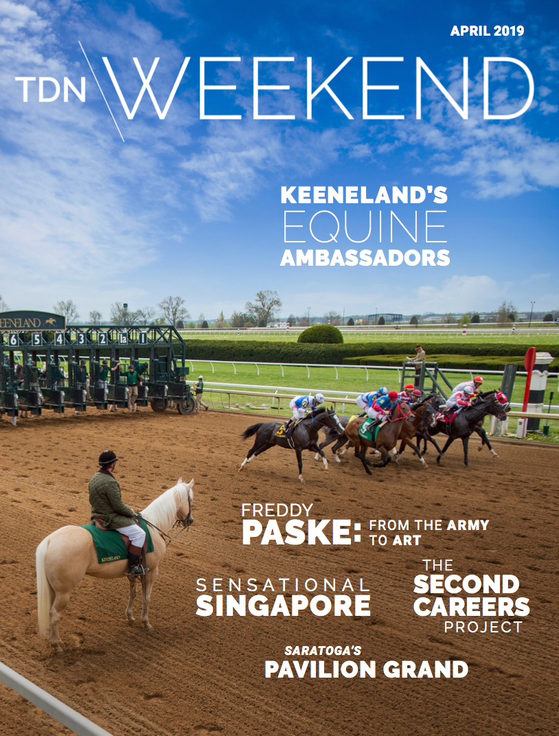 Thoroughbred Daily News Weekend,