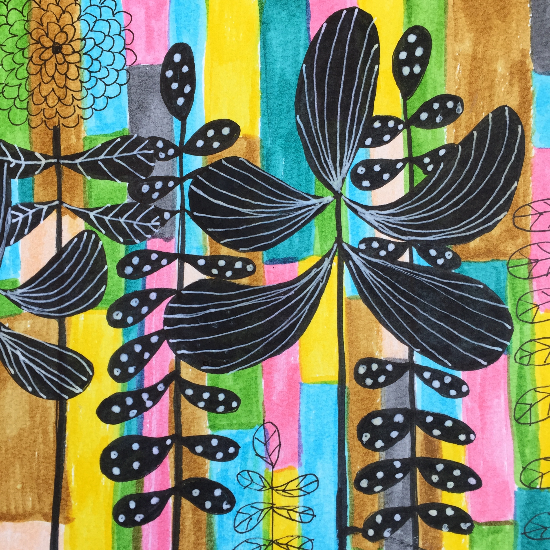 One of Elissa's line drawings for Lisa Congdon's class on Creativebug.jpg