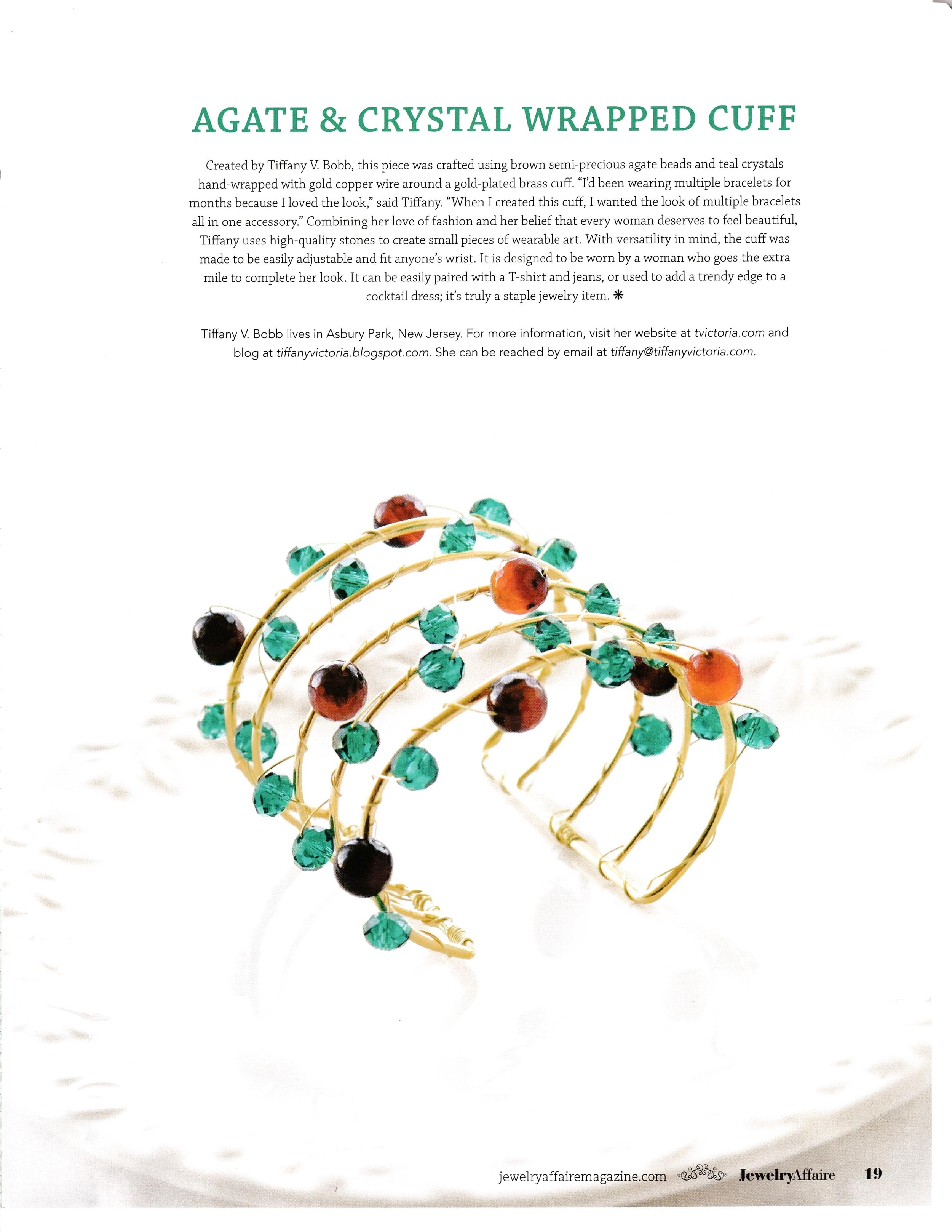 T. Victoria in Jewelry Affaire Magazine