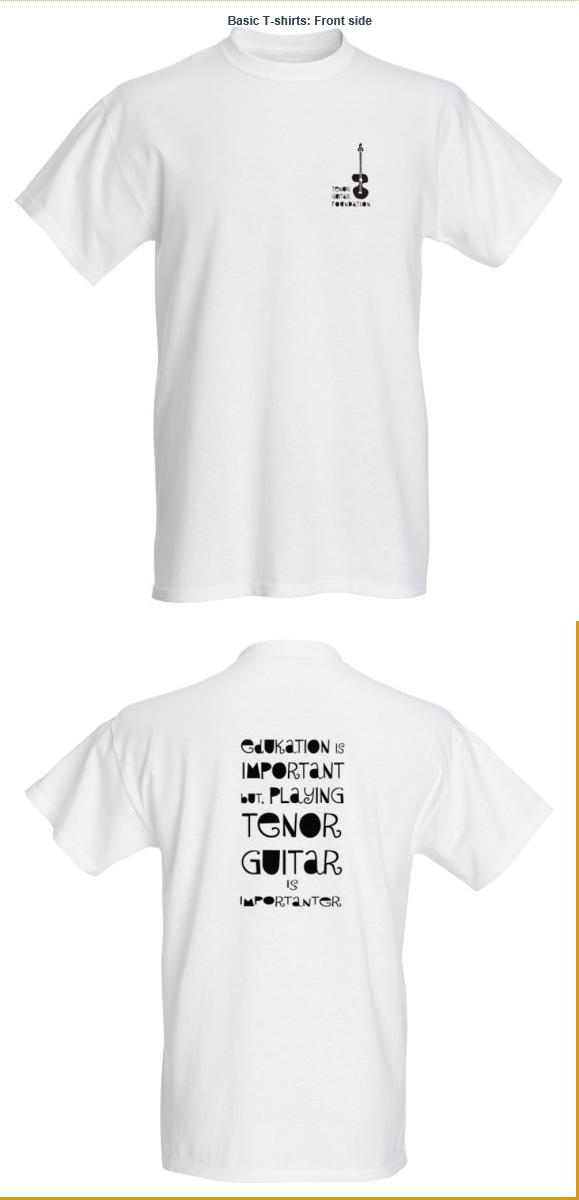 LIMITED EDITION TG FOUNDATION T-SHIRT