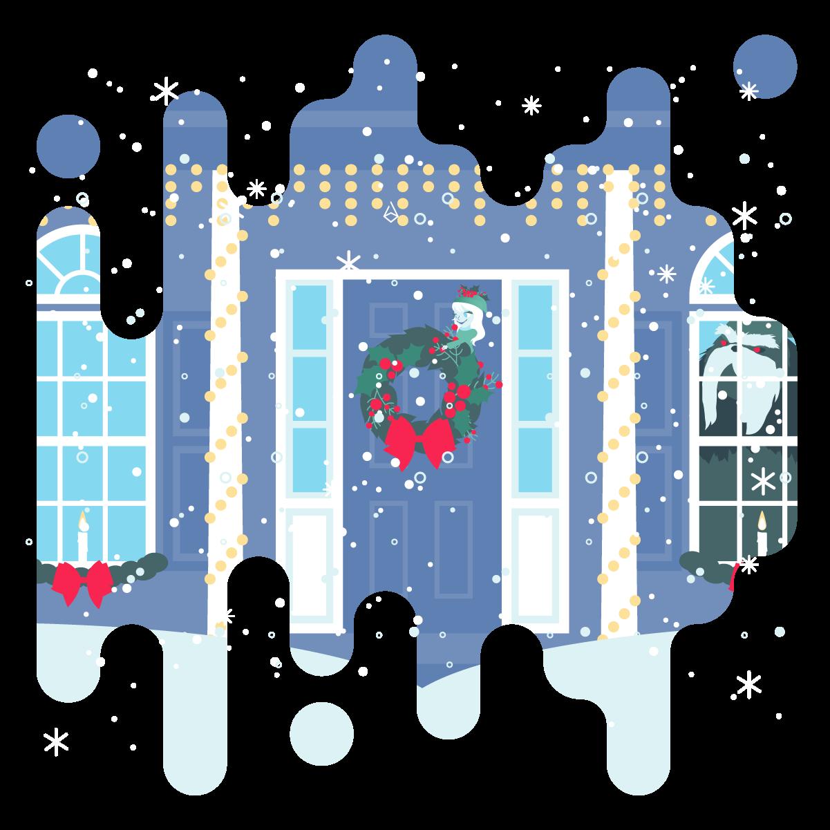 December 8   … On your own front door!