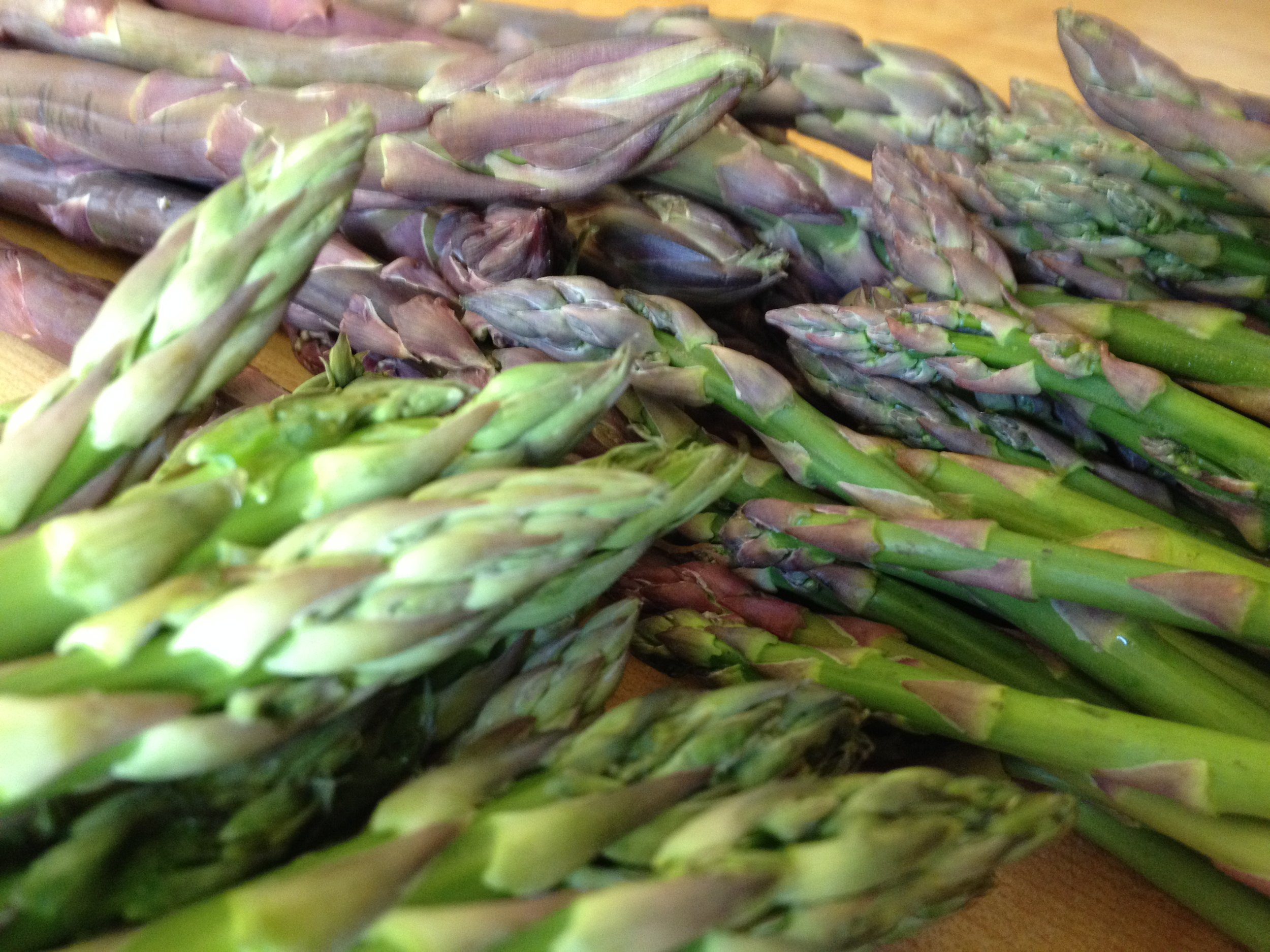 Asparagus. Layers of delicious.