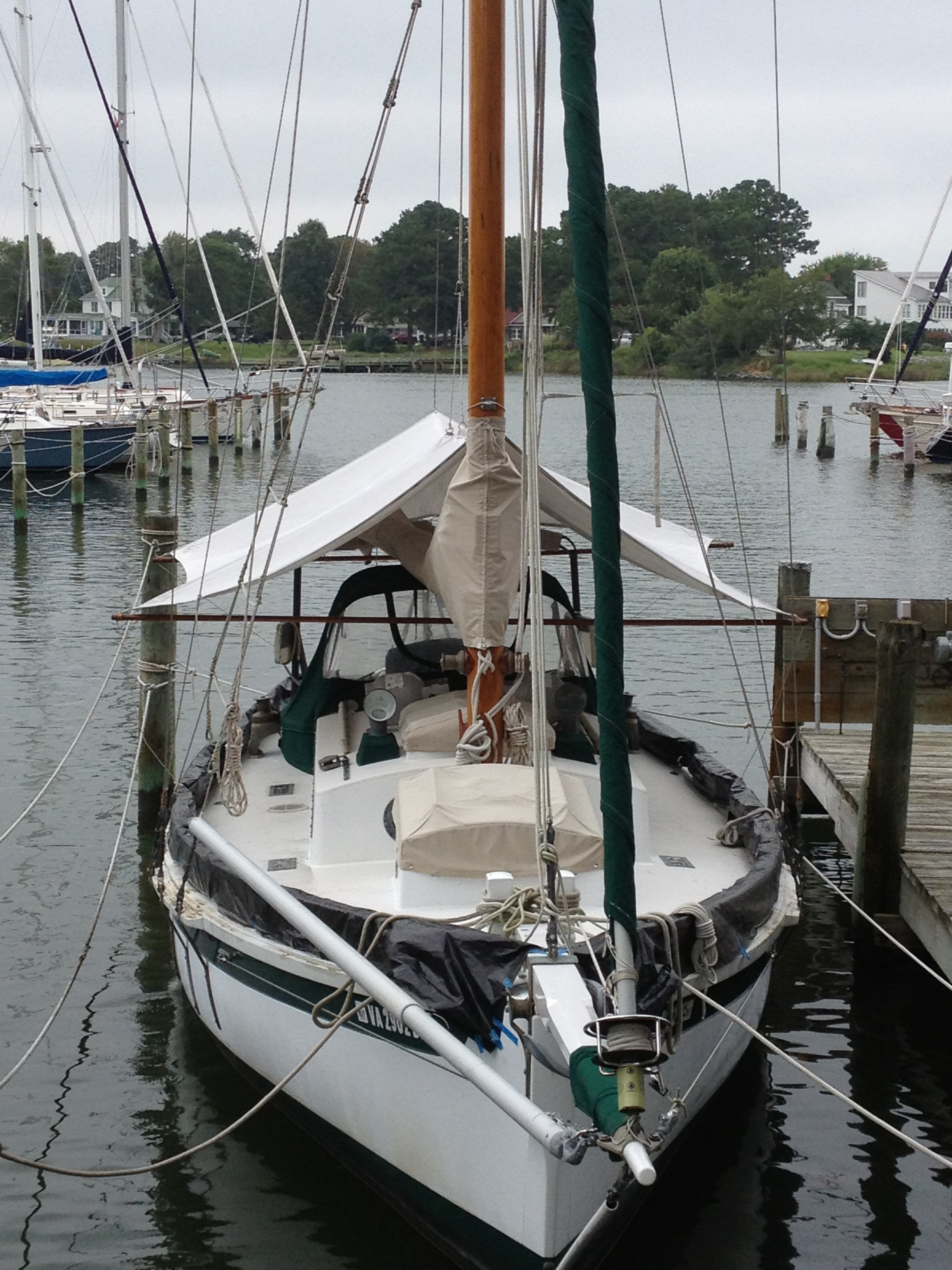 Obviously, this is the BEST sailboat! (It's ours.)