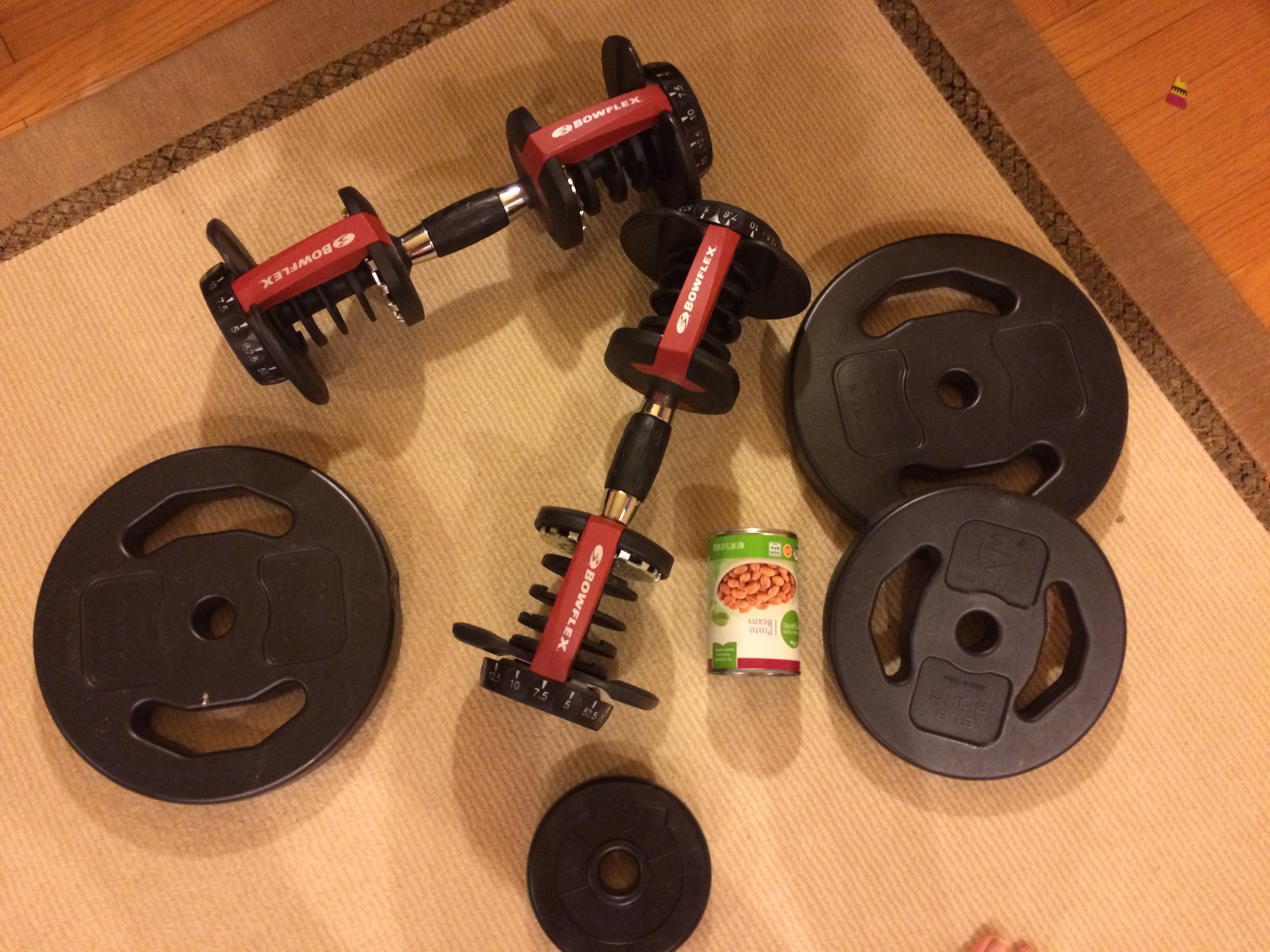 weights of various kinds!