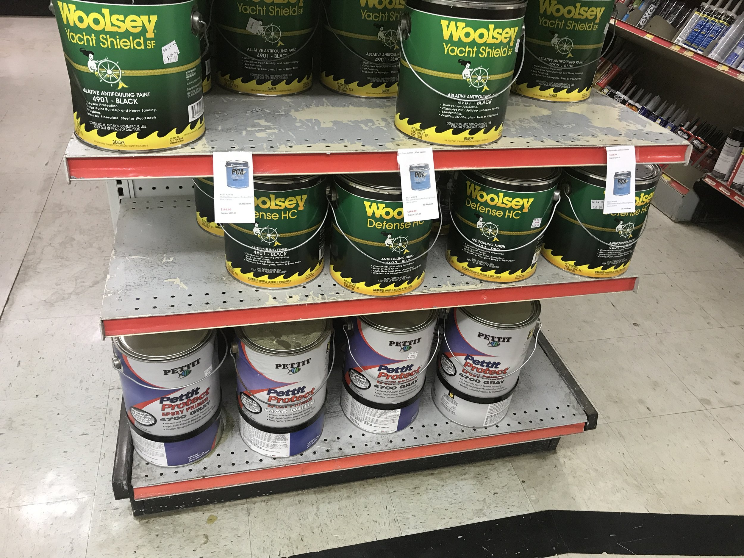 Step 2: Choose paint. There are many more options than this!
