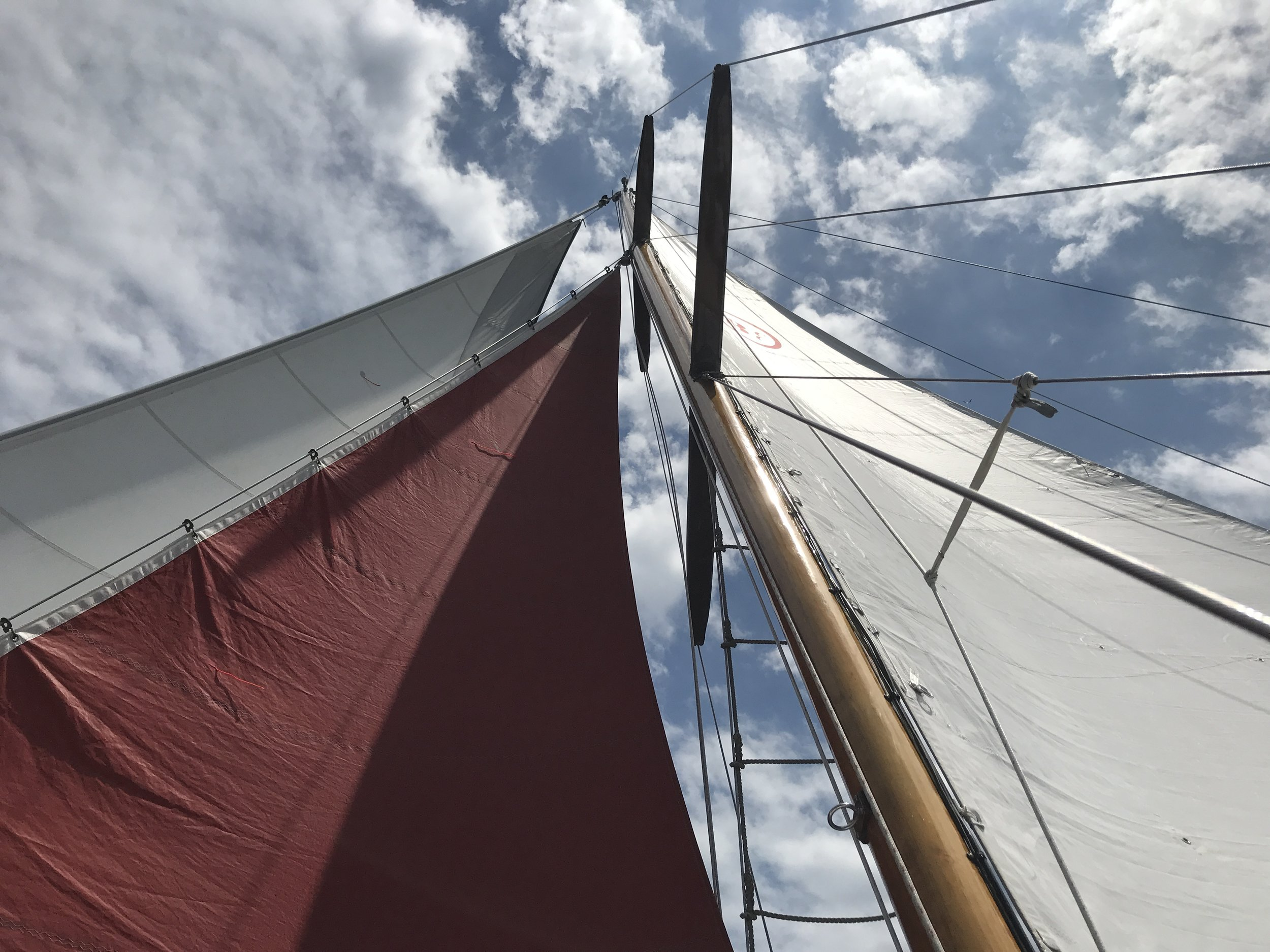 Hoist the sails. Ahhhh.