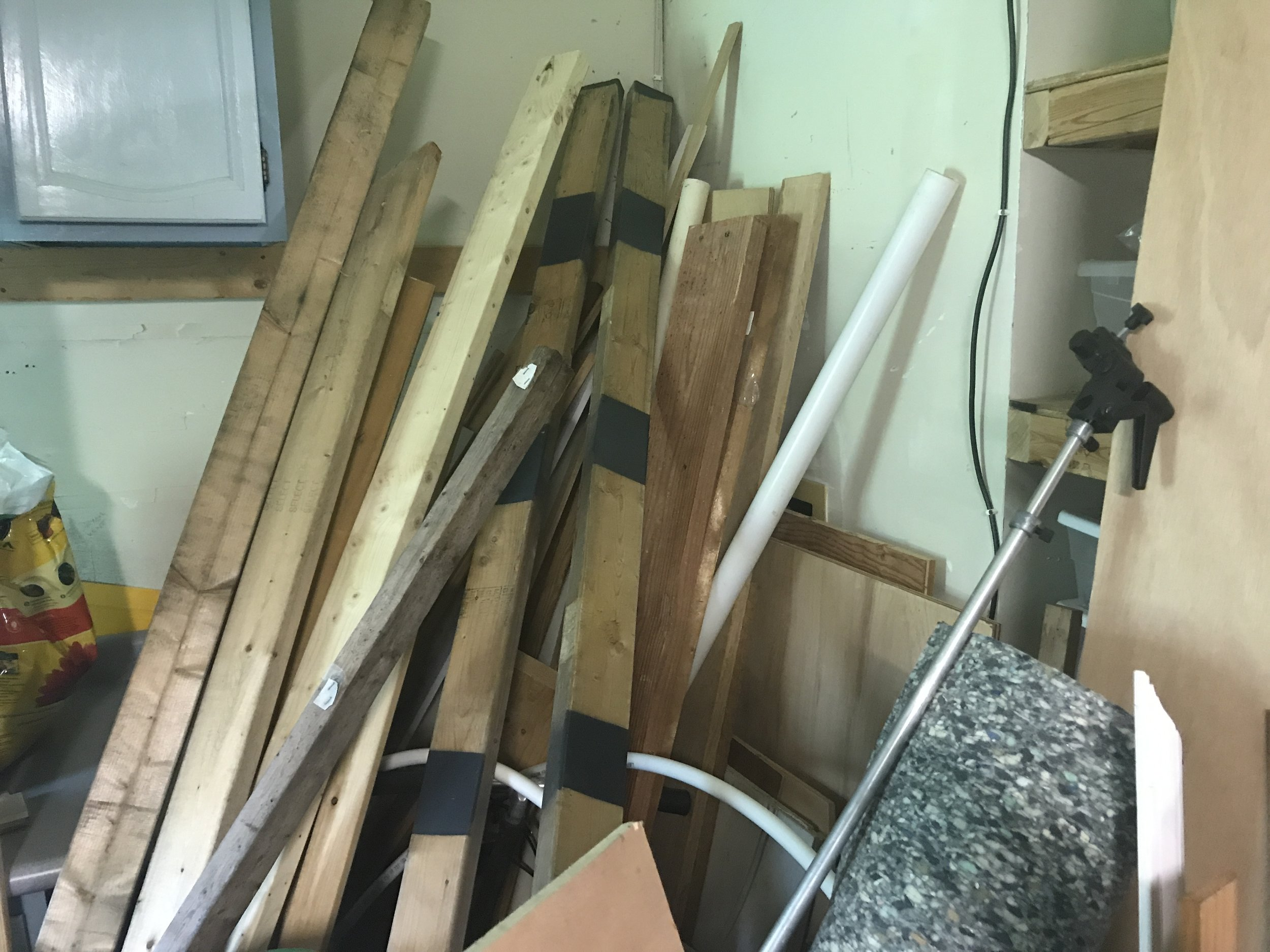 More wood.