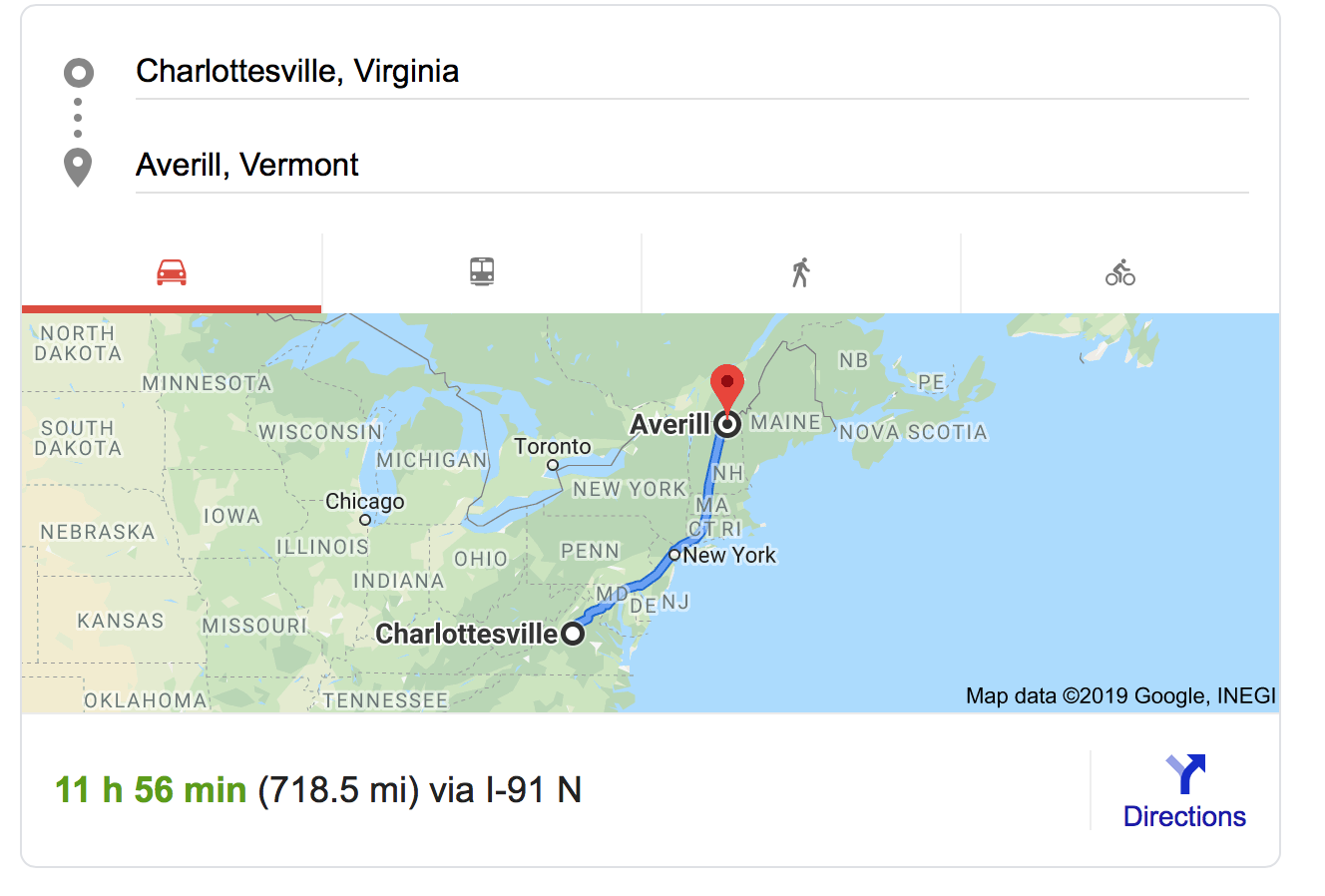 This is a long drive, no matter how you slice it.