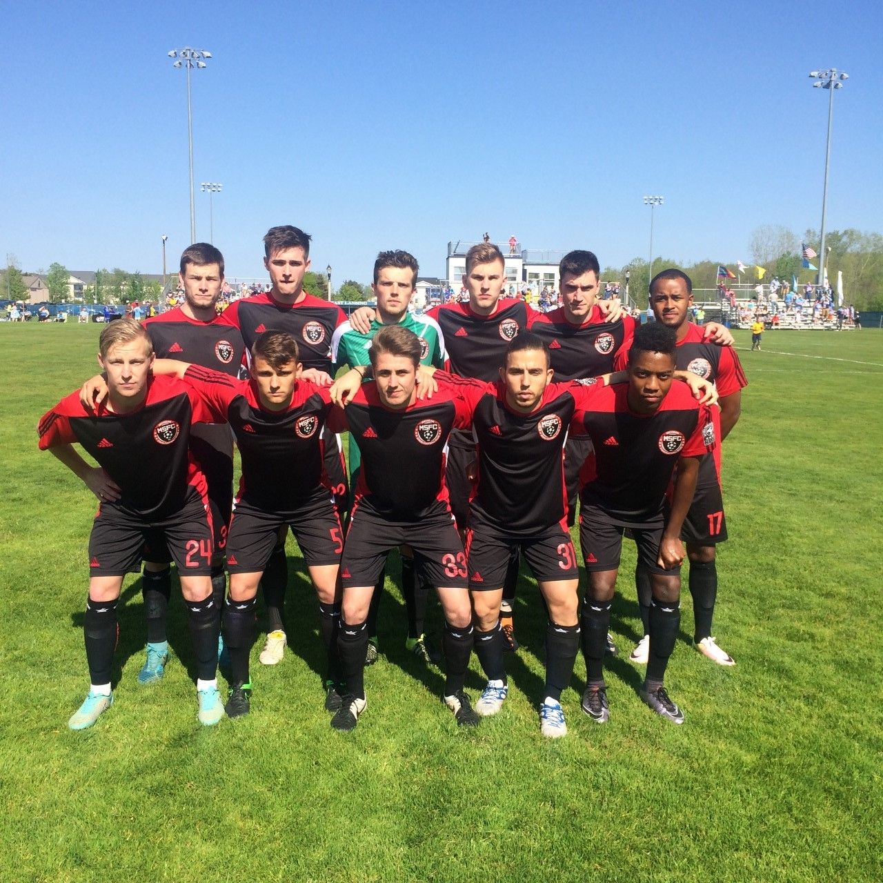 Michigan Stars Starting Lineup On Sunday v Lansing United
