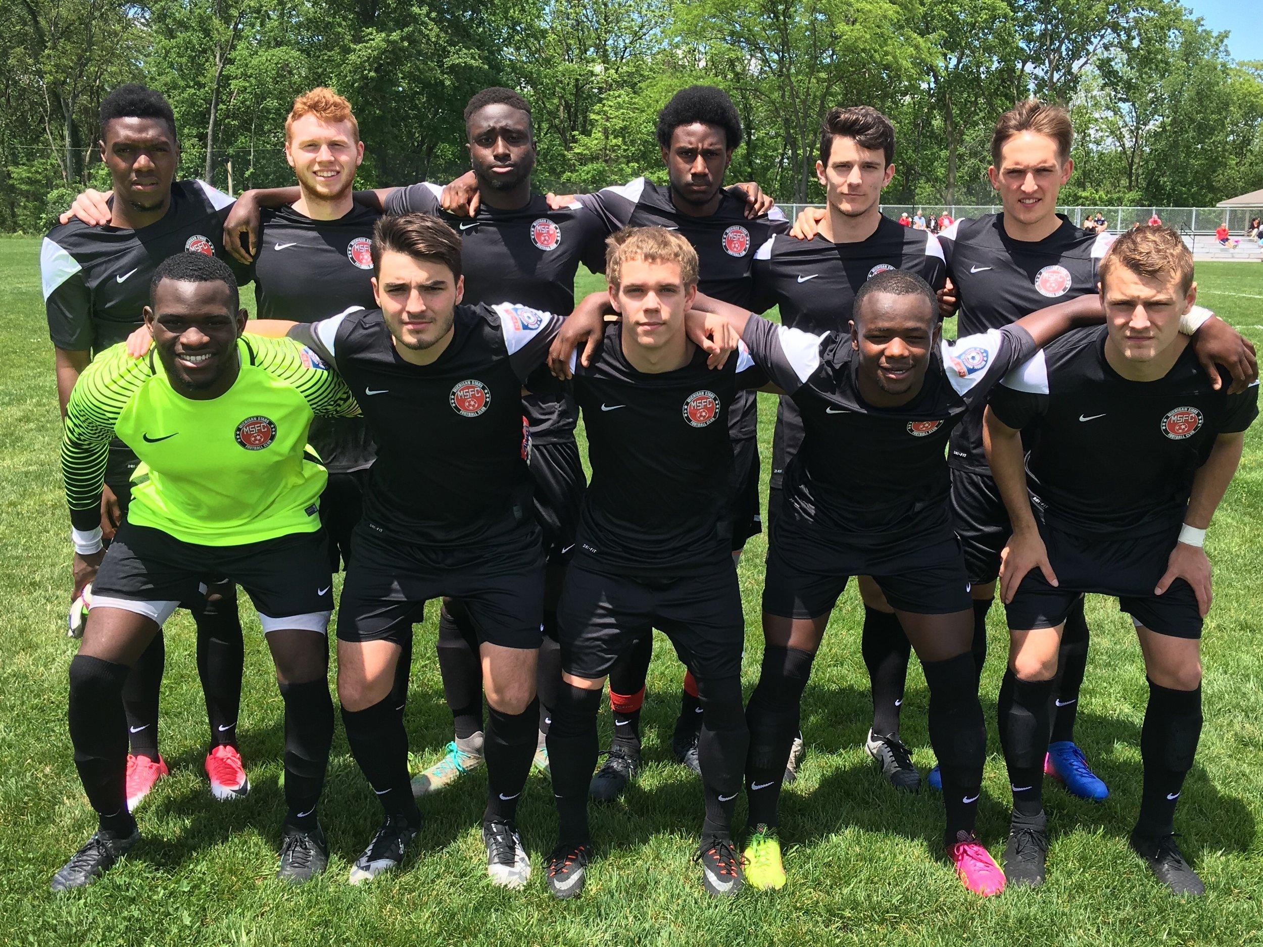 Michigan Stars defeat FC Indiana 8 - 2.                        -Michigan Stars Staff Photo