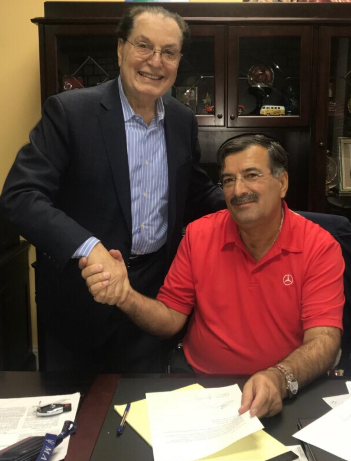 Co-Owners Ned Fawaz and George Juncaj