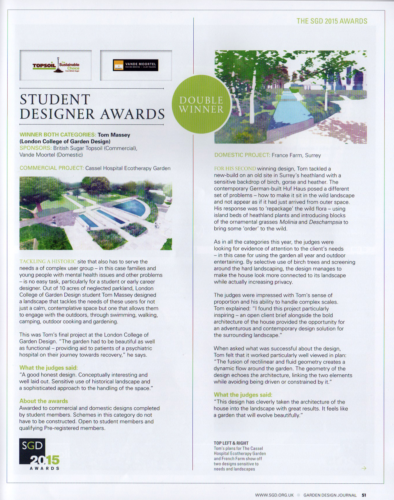 SGD Garde Design Journal Article