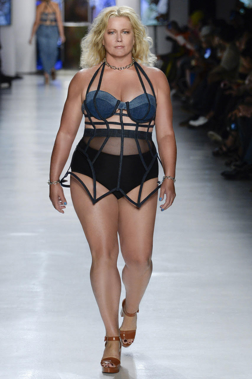 This #Chromat show was incredible, rewarding and so so happy I stepped aside from fear and just let go! Photo: CHROMAT