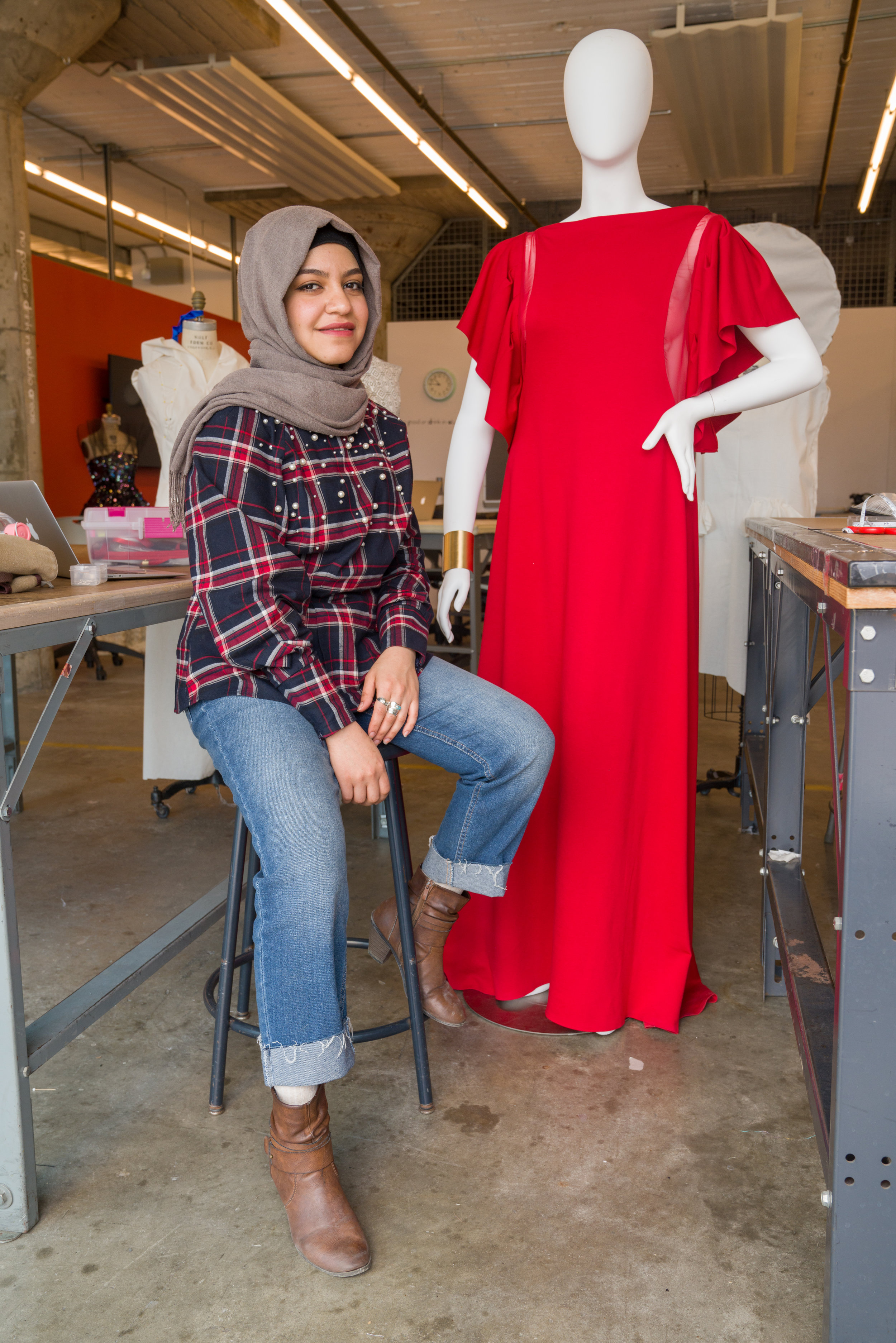 Fashion Without Limits 2019 Winner Kalthom Aljiboury