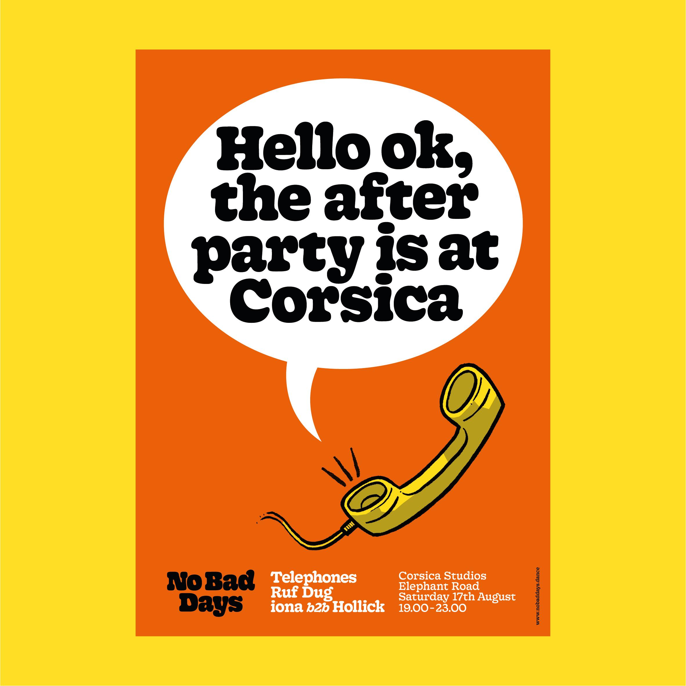 Corsica Studios A2 Poster