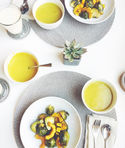 A Sattvic (pure) Ayurvedic Meal photo by Erika Elizabeth