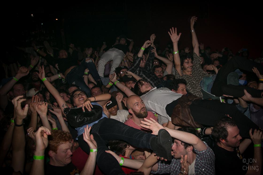 Dan Deacon's Crowd, The Chapel, 2015
