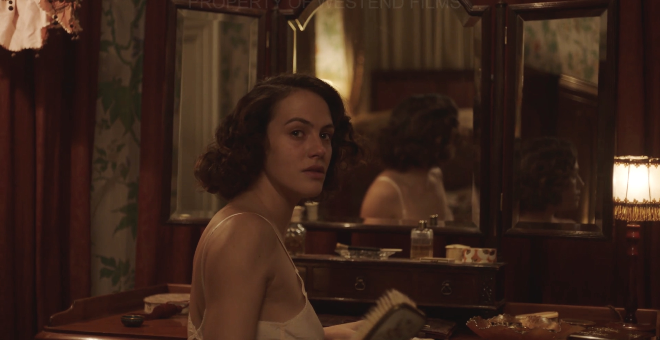 Jessica Brown Findlay plays the wife of the vicar of Borley Rectory in this psychological horror set in the 1930's