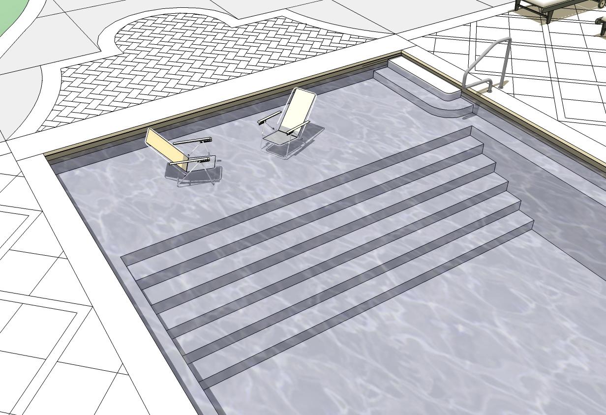 Charles City County Pool Terrace