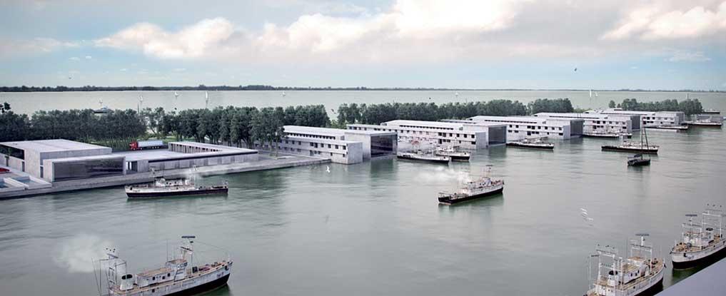 Aleghero. I nuovi capannoni di stoccaggio e lavorazione del pesce