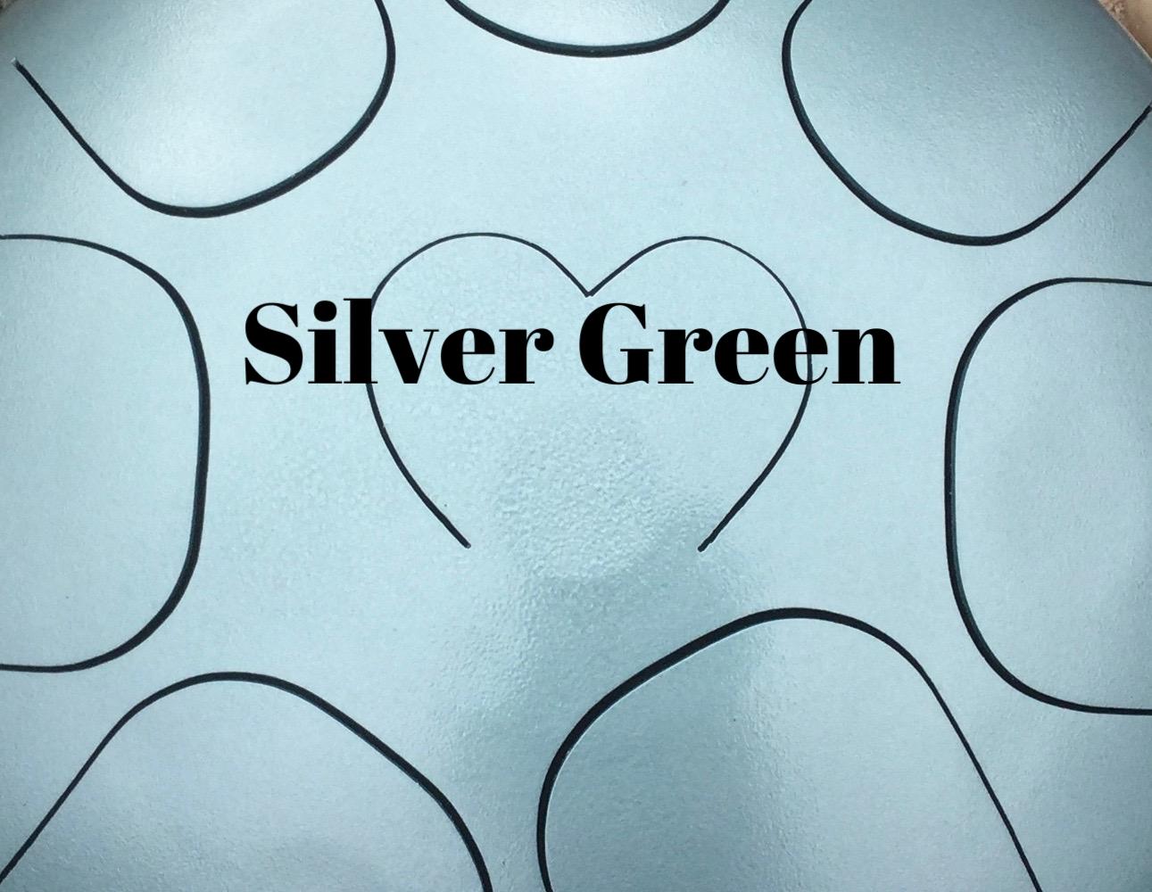 steel tongue drum silver green.jpg