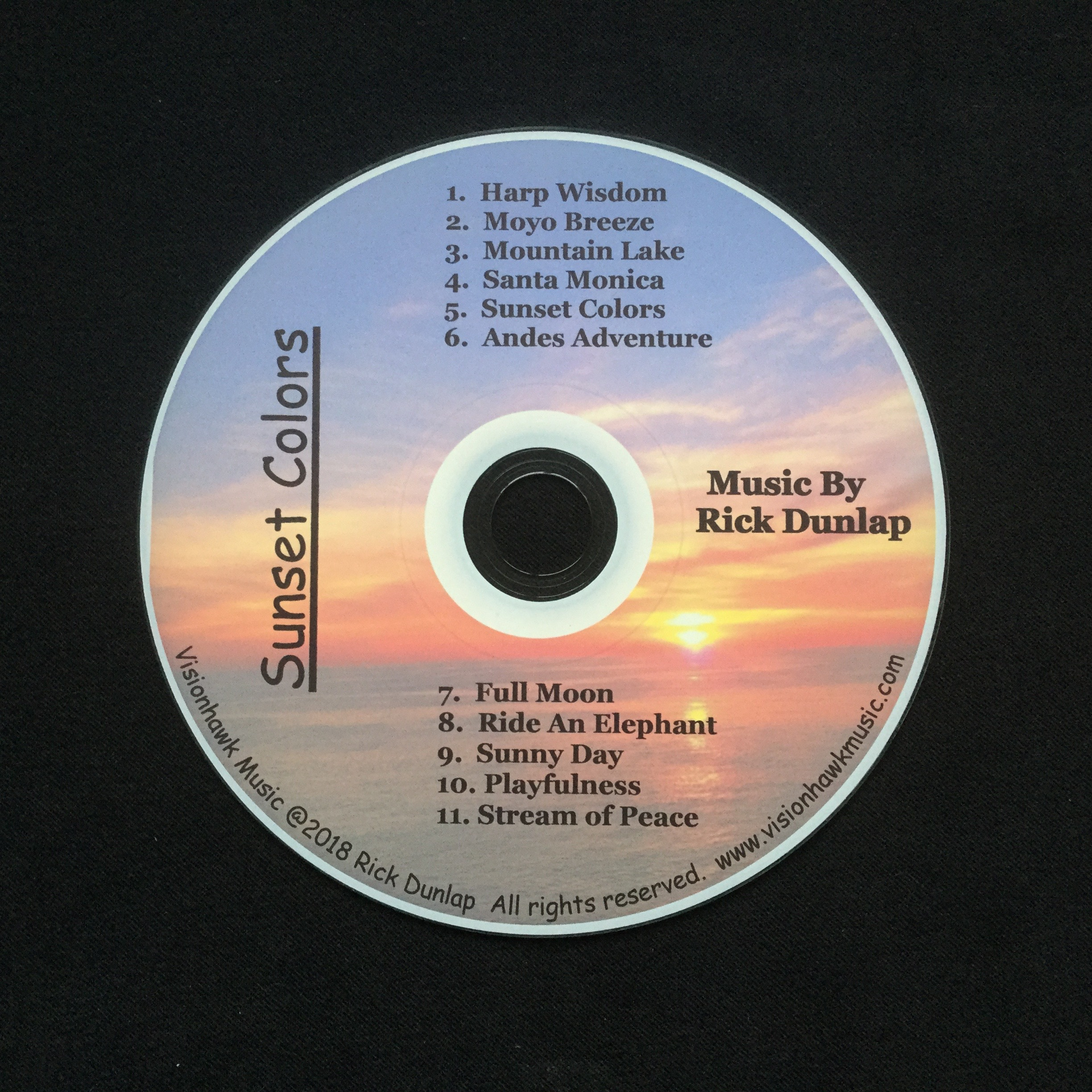 Sunset Colors CD