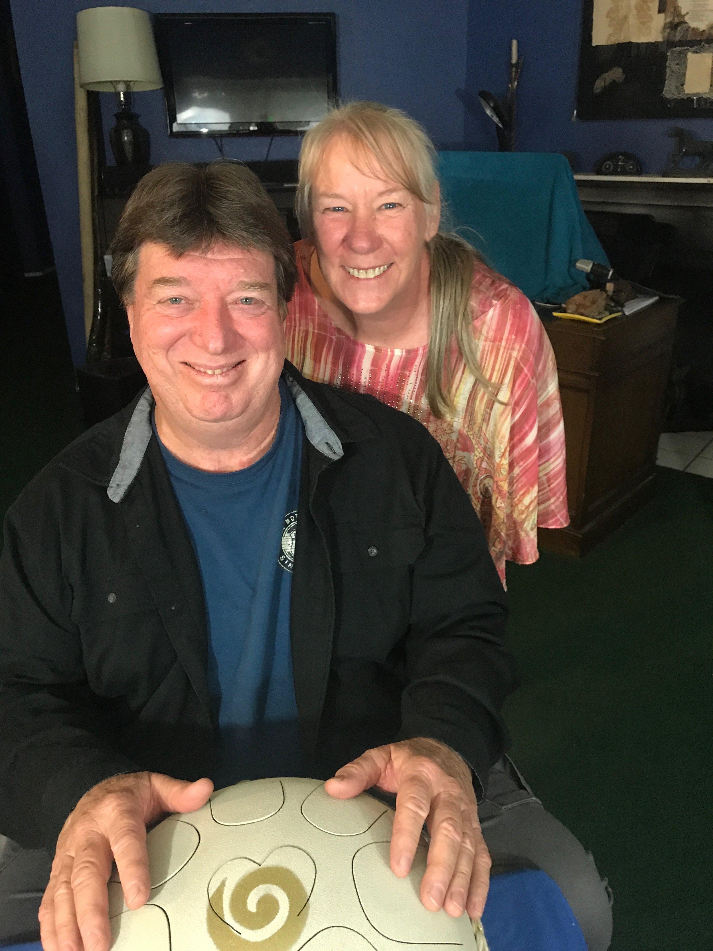 Rick and Linda Dunlap of Visionhawk Music