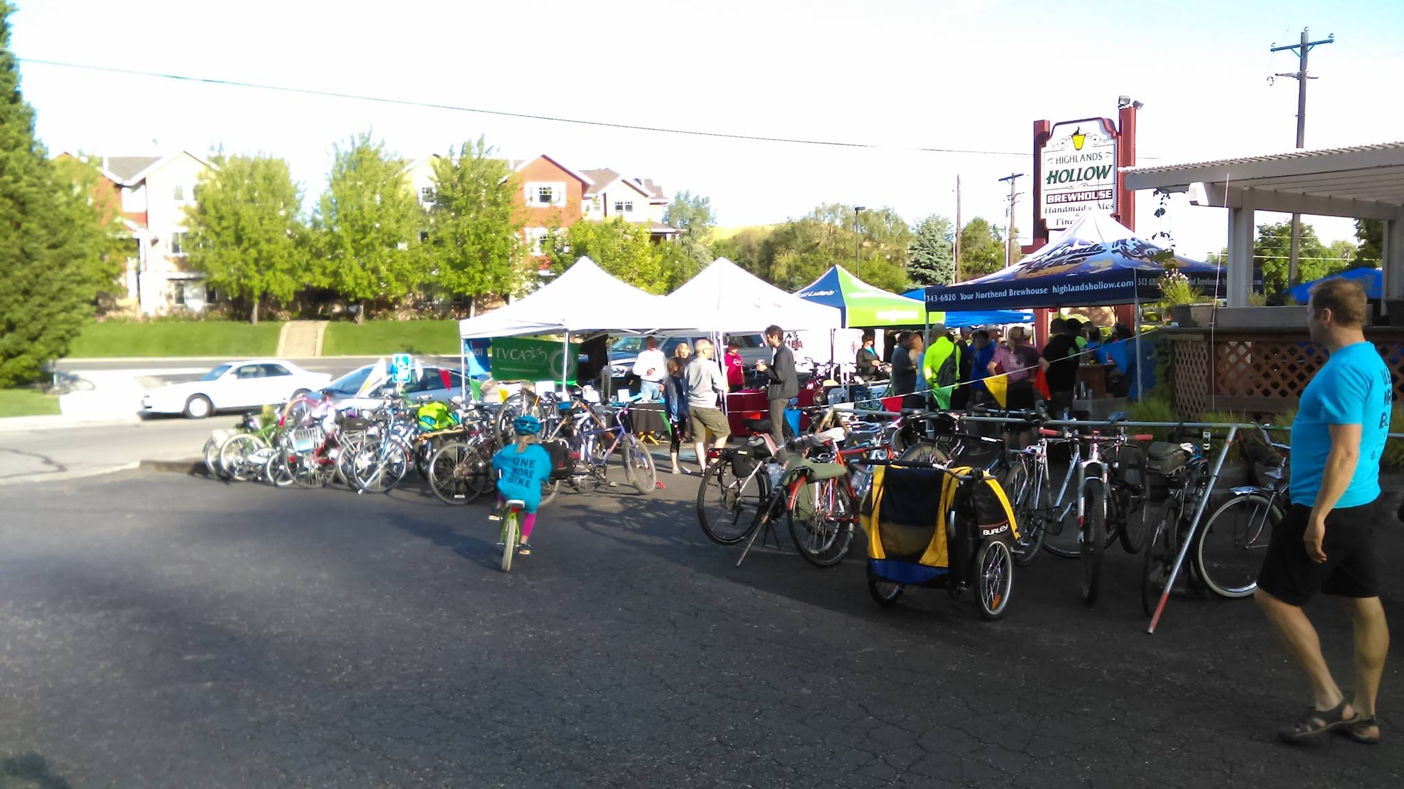 Bike Week Kick Off Party - Monday, May 13 from 5-9 PM. Join us at Highlands Hollow Brewhouse after work to officially kick off Boise Bike Week 2019. We'll have local bike groups sharing what's new with all types of biking. There will also be live music, bike parking and tune ups, so ride on over and enjoy! See the Facebook event for details.