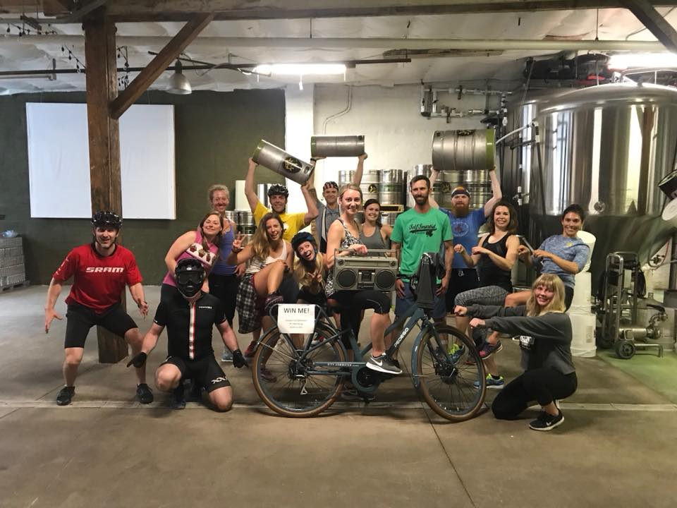 Bike Week KegFit - Tuesday, May 14 at 5:45 and 6:45 PM at Woodland Empire. Picture yourself sweating to the best bicycle-themed music, jiving from exercise station to exercise station, and incorporating beer kegs for weights. Bust out your neon lycra, short shorts, and headbands for this bicycle-themed workout. End your workout with a well-earned recovery beer and let the good times roll!