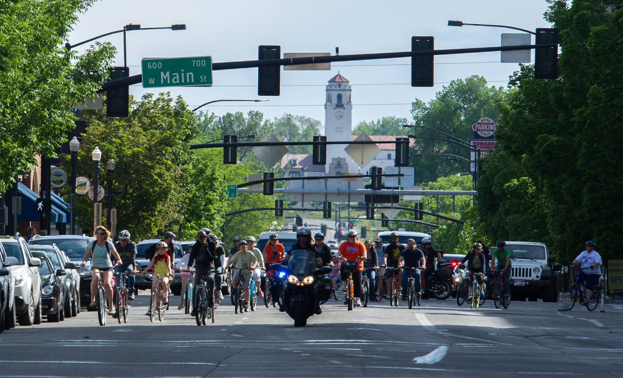 Pedal Power Parade - Saturday, May 18 at 2 PM. Meet at the Capitol for a pedal powered parade to the State Street Block Party at ITD Headquarters. Our route will follow some new Low Stress Bikeways identified by ACHD. Watch this page and the Facebook event for updates on this ride.