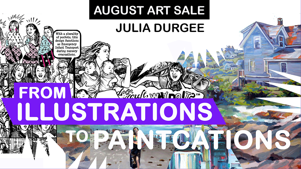 Julia Durgee: poster for August UMVA exhibit